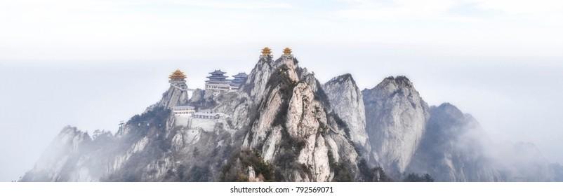 Laojunshan, China famous Taoist Holy Land