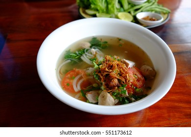 Laos noodle clean food good taste