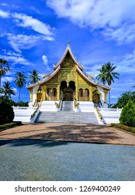 Laos temple Buddhist Asia