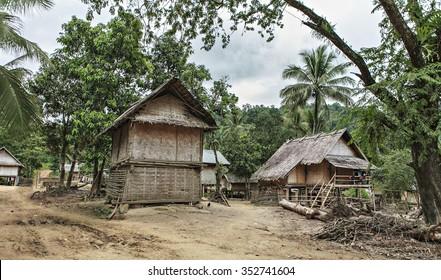 laotian village