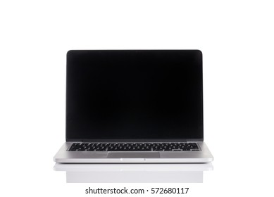 Lap top isolated on a white background