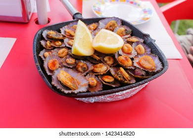 Lapas, traditional food in the Azores