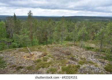 Lapland landscape, Finland