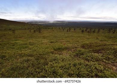 Lapland mountains landscape, Pallastunturi, Palkaskero