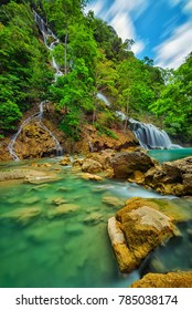 Lapopu Waterfall in Sumba Island, Indonesia