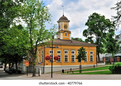 Lappeenranta, Finland. The building of the Old Town Hall, 1899