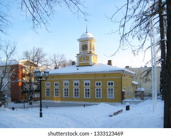 Lappeenranta. Old wooden town hall.