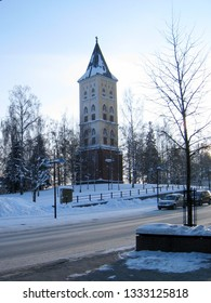 Lappeenranta. St Mary Church Bell Tower