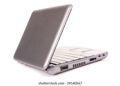 Laptop and business concept closeup