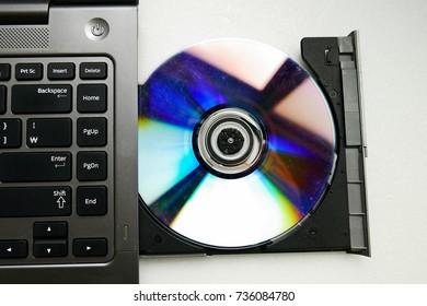 Laptop computer CD-ROM drive