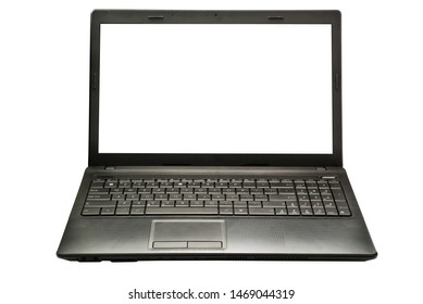 laptop isolated on a white background