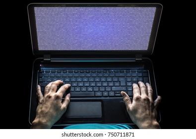 Laptop with programming language