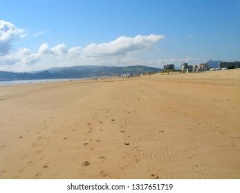 Laredo and Santoña. Beach in  Cantabria. Spain
