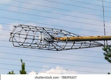 "Large antenna field. Soviet radar system ""Duga"" at Chernobyl nuclear power plant. ABM missile defense. Antenna field, over-the-horizon radar. Military object of USSR ABM. Secret Soviet Chernobyl -2"