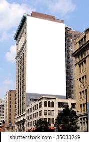 Large Billboard in New York City