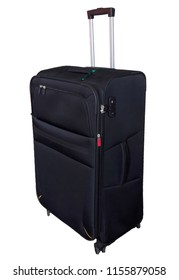 large black suitcase for travelling