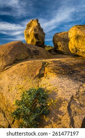 Large boulders at Mount Rubidoux Park, in Riverside, California.