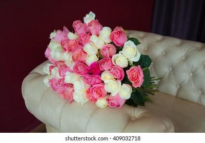 Large bouquet of roses. Bouquet of 51 Roses. Roses. Bouquet.