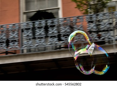 Large bubbles - French Quarter, New Orleans, LA, USA