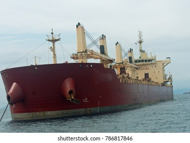 Large bulk carrier of the type used to move grains and raw materials around the world