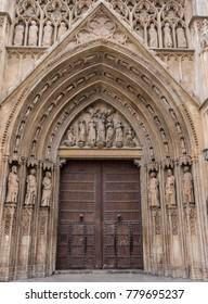 Large Church Door, Valencia