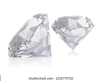 Large Clear Diamond