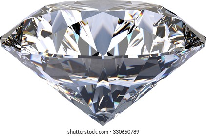 Large Clear Diamond