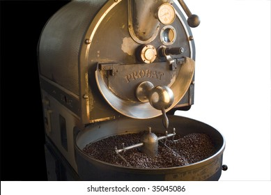 Coffee Roaster Machine Images, Stock Photos & Vectors