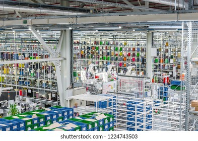 Cables Wiring Reel Warehouse Images, Stock Photos & Vectors ... on