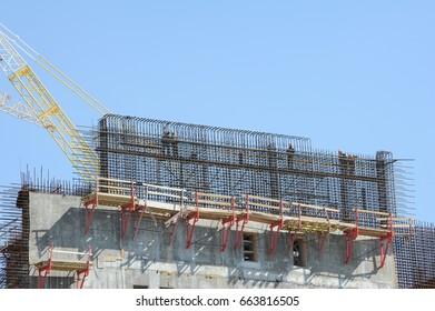 A large construction project