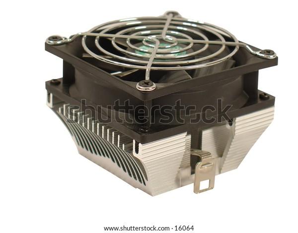 Large Cooling Fan and Heatsink