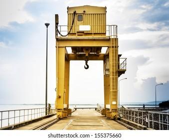 Harbor Freight Gantry Crane >> Overhead Gantry Crane Images, Stock Photos & Vectors ...