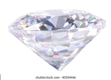 Large diamond on white background.