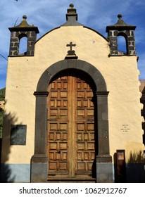 large door. Hermitage san miguel arcángel. la laguna. Tenerife