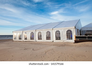 Large entertainment tent for events