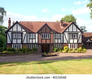 A Large Estate home, tudor style, in the UK