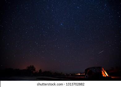 Large file image of million star at Pha Chanadai Cliff, Phataem National Park,Ubon Ratchathani Province, Thailand