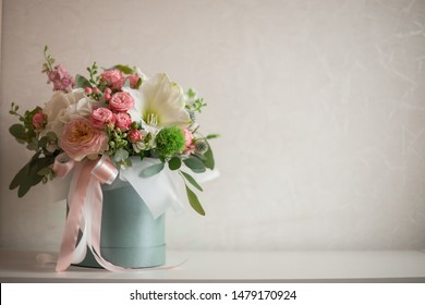 Flower Arrangement Box Images Stock Photos Vectors Shutterstock