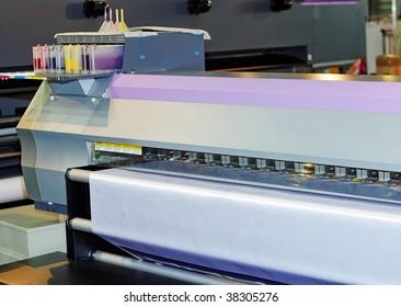 Large format inkjet printers for outdoor billboards printing