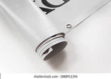 Large format print with hem - Shutterstock ID 1888911196