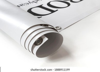 Large format print with hem - Shutterstock ID 1888911199