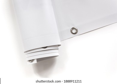 Large format print with hem - Shutterstock ID 1888911211