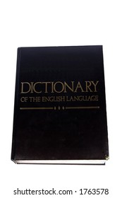 A large generic Dictionary of the English Language.