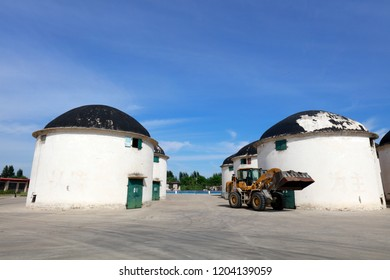 Large granary in China