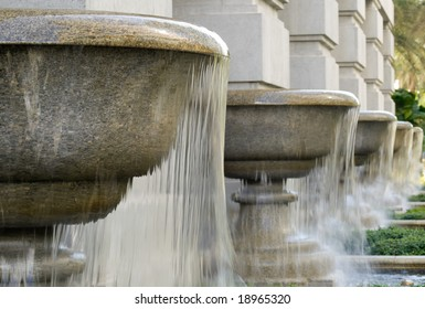 Large Granite Cup Fountains