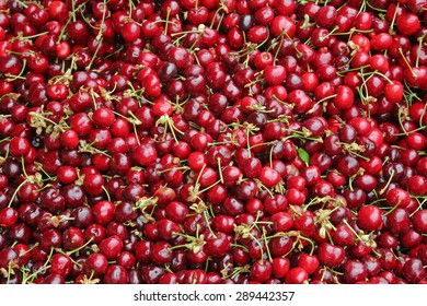 large group of cherries