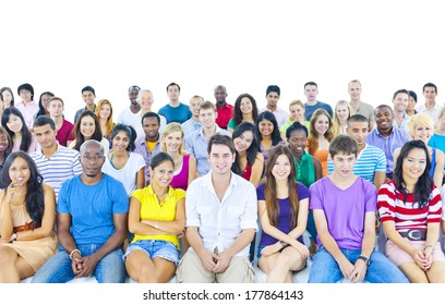 Large Group of Student in the Conference Room