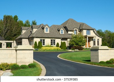 Large Home with Gates