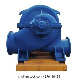 Large industrial heating water pump