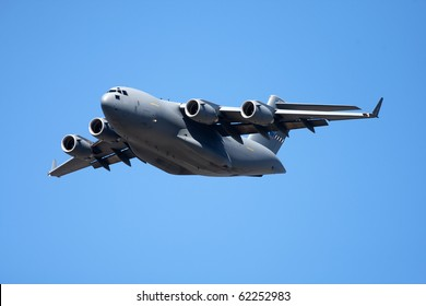 Large jet transport aircraft at air show in Cape Town South Africa September 2010